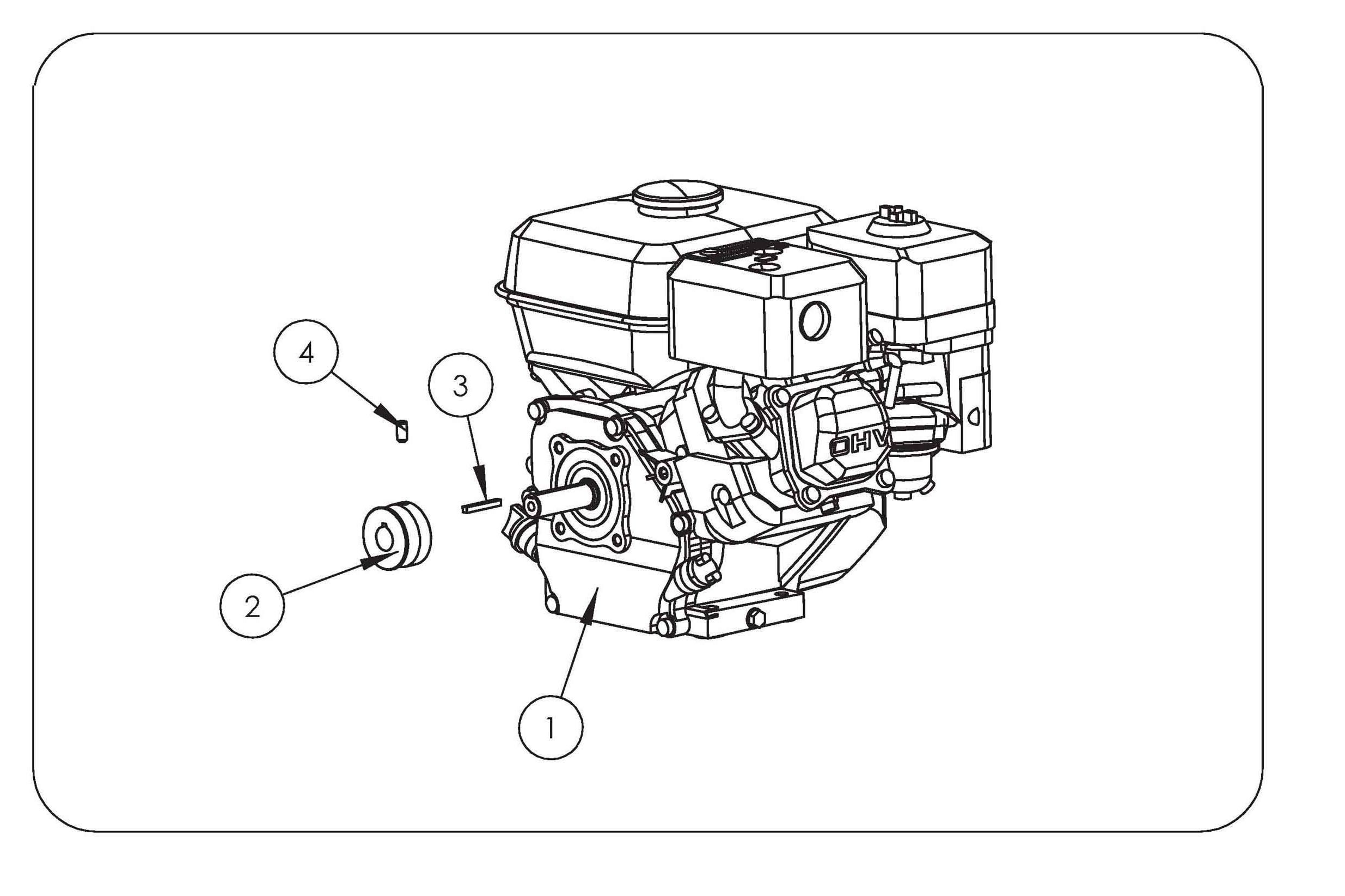 SCA 38 Aérateur  OLEOMAC vue éclatée  Dessins pièces -  Moteur
